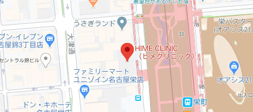 HIME CLINIC地図