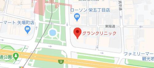 医療法人美彩会グランクリニック地図