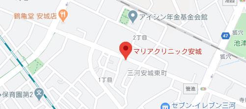 マリアクリニック 豊田院地図