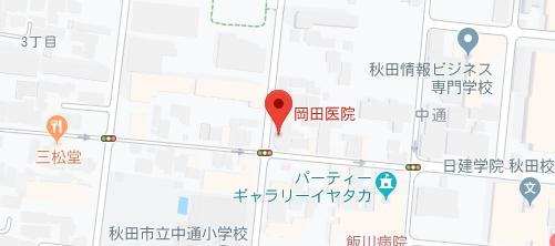 岡田医院地図