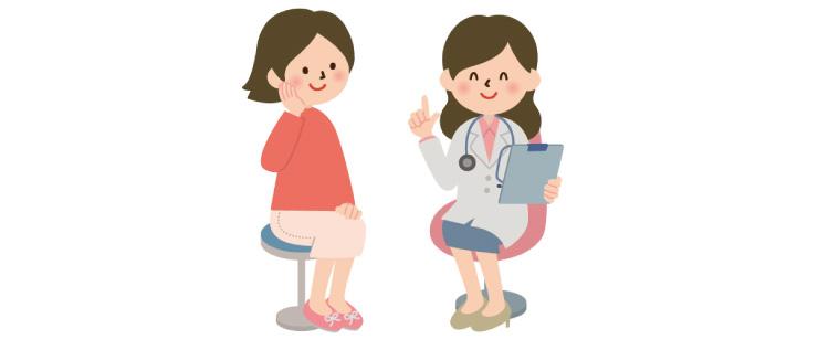 カウンセリングをするドクターと女性