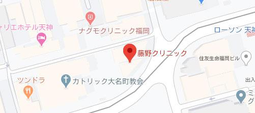 藤野クリニック10地図