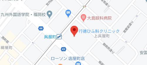 行徳ひふ科クリニック地図
