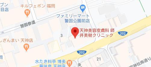 師井美樹クリニック地図