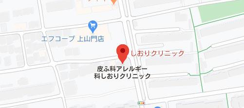 しおりクリニック地図