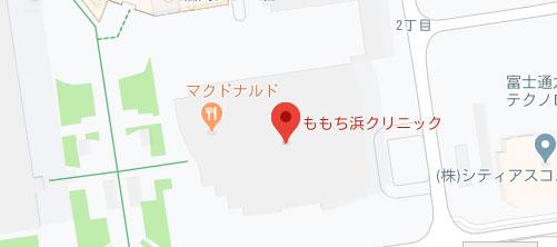 ももち浜クリニック地図