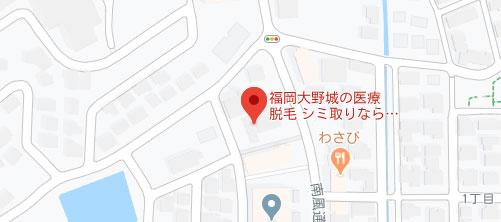 ひかり皮ふ科クリニック地図