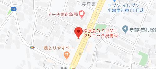 OZUMIクリニック地図
