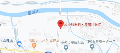 境医院地図