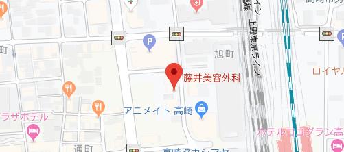 藤井美容外科地図