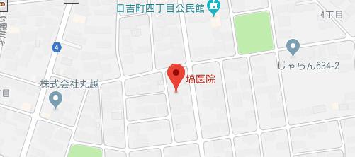 塙医院地図