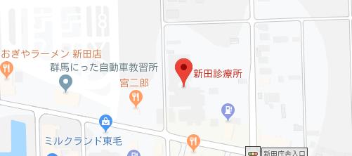 新田診療所 地図