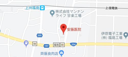 安藤医院地図