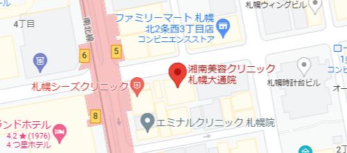 湘南美容クリニック地図