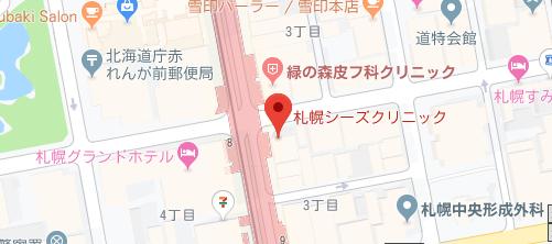 札幌シーズクリニック地図