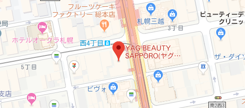 THE BEAUTY CLINIC地図