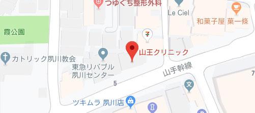 山王クリニック地図