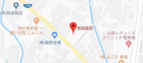 西田医院地図