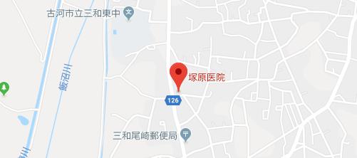塚原医院地図
