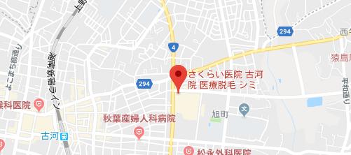 さくらい医院地図