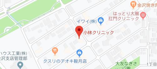 小林クリニック地図