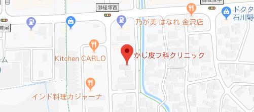 かじ皮フ科クリニック地図