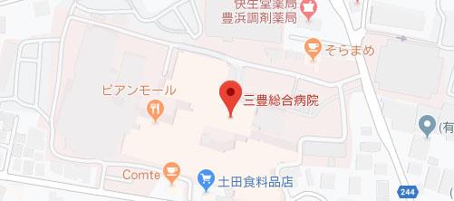 三豊総合病院地図