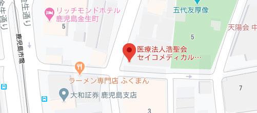 セイコメディカルビューティクリニック地図