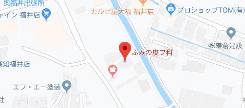ふみの皮フ科地図