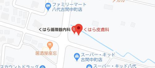 永田皮膚科医院地図