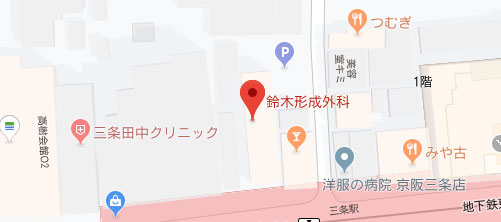 鈴木形成外科地図