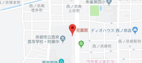 任医院地図