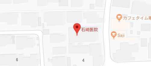 石崎医院 アンチエイジングラボ亀岡地図