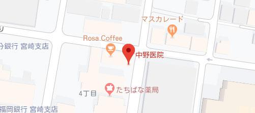 中野医院地図