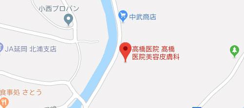 高橋医院美容皮膚科地図
