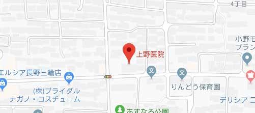上野医院地図