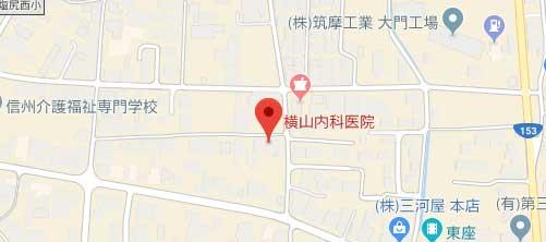 横山内科医院地図