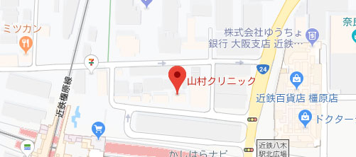 山村クリニック地図
