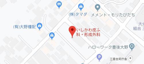 いしかわ皮ふ科・形成外科地図