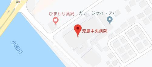 児島中央病院地図