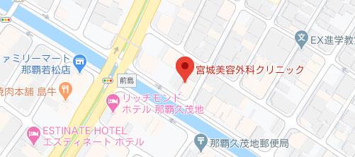 宮城美容外科クリニック地図