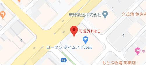 形成外科KC地図