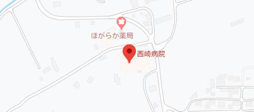 西崎病院地図
