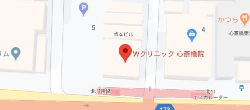 Wクリニック地図