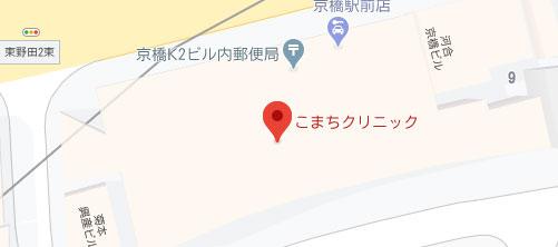 こまちくりにっく地図