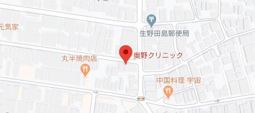 奥野クリニック地図