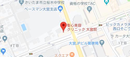 聖心美容クリニック 大宮院地図