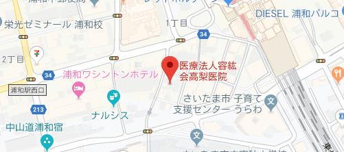 高梨医院地図
