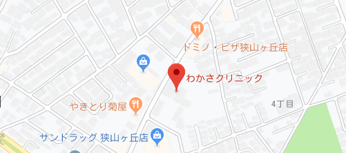 わかさクリニック地図