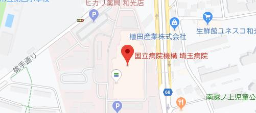 埼玉病院地図